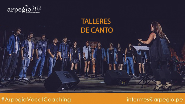 Arpegio Vocal Coaching | Talleres de Canto Popular