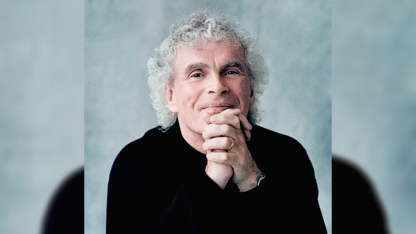 Sir Simon Rattle será distinguido Doctor Honoris Causa